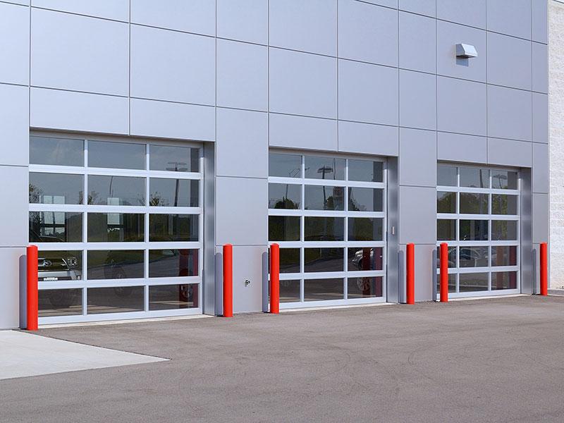 C.H.I. Overhead Doors - Aluminum Full-View Doors