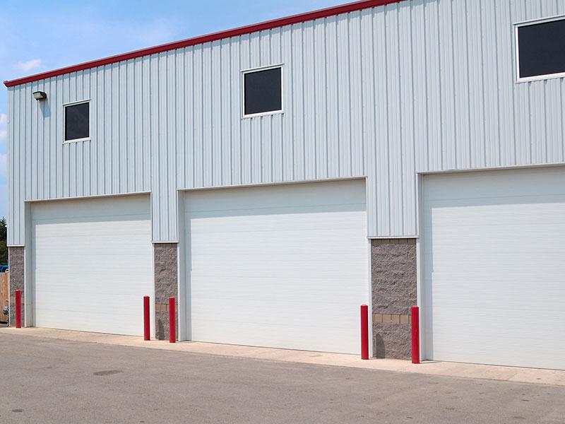 C.H.I. Overhead Doors - Ribbed Steel Pan Doors